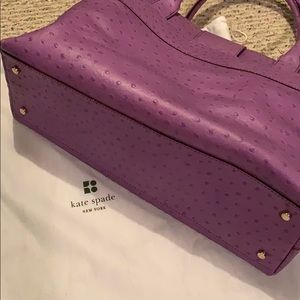 kate spade Bags - Beautiful Kate Spade in purple leather.